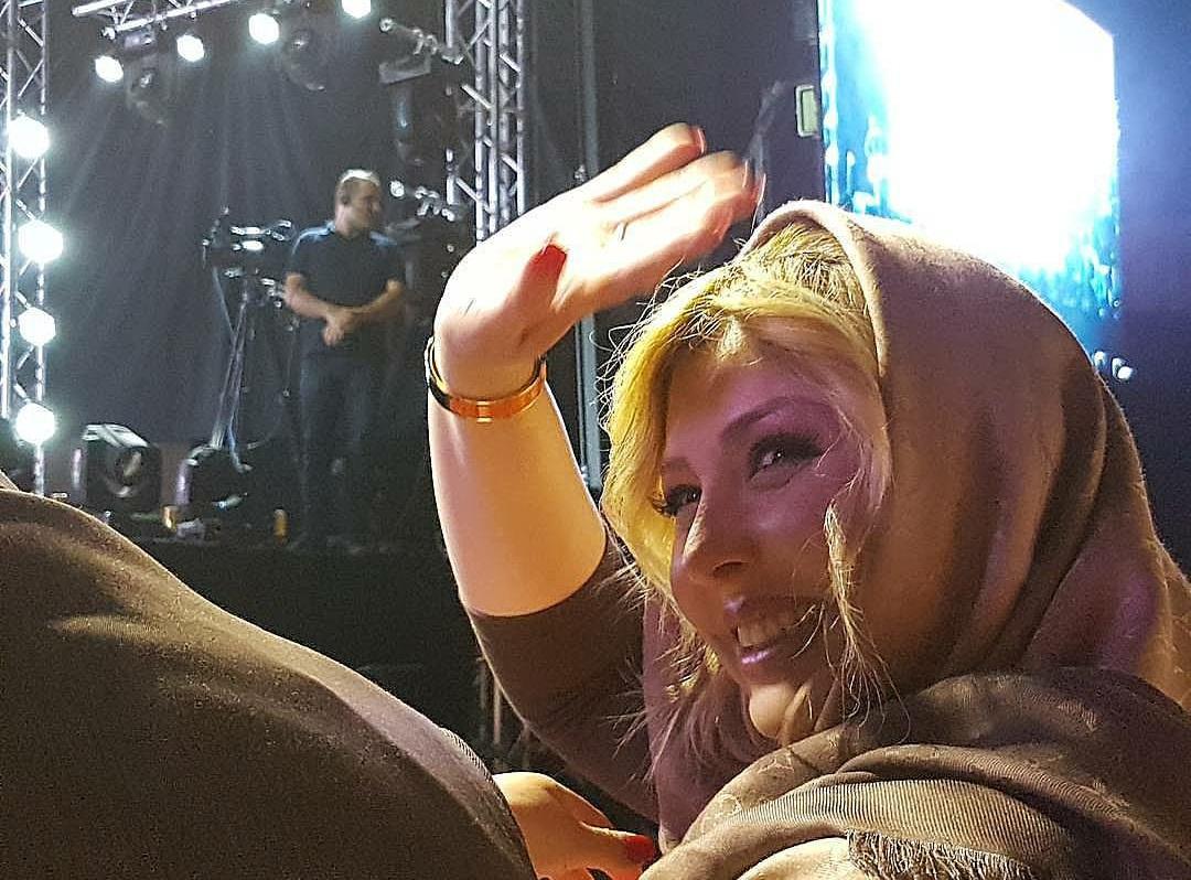نیوشا ضیغمی در کنسرت بهنام بانی + عکس