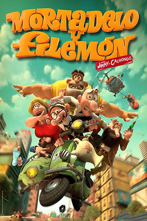 دانلود انیمیشن Mortadelo and Filemon: Mission Implausible 2014 بادوبله فارسی