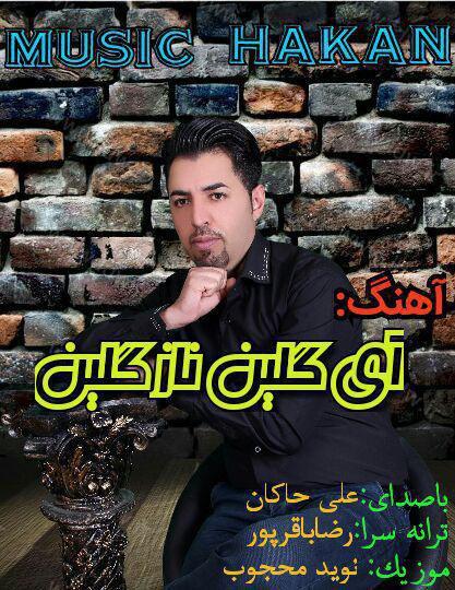 آهنگ ای گلین ناز گلین از علی حاکان