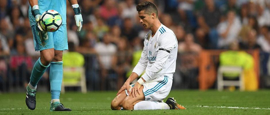 کریستیانو هم مانع ناکامی رئال مادرید نشد