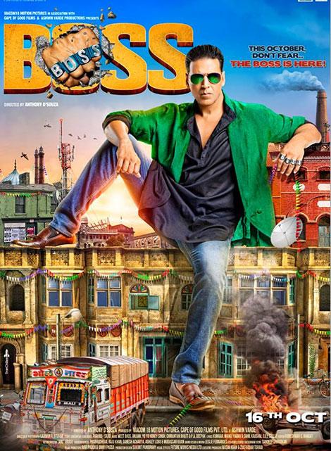 دانلود دوبله فارسی فیلم هندی من رئیس هستم Boss 2013