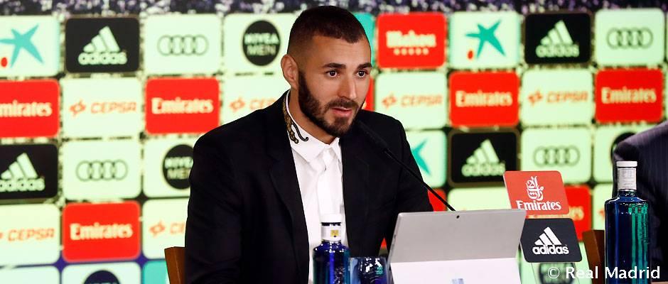 کریم بنزما: رئال مادرید آخرین باشگاه من است