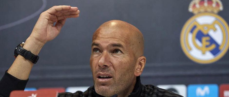 پاسخ زیدان به منتقدان سیستم چرخشی رئال مادرید