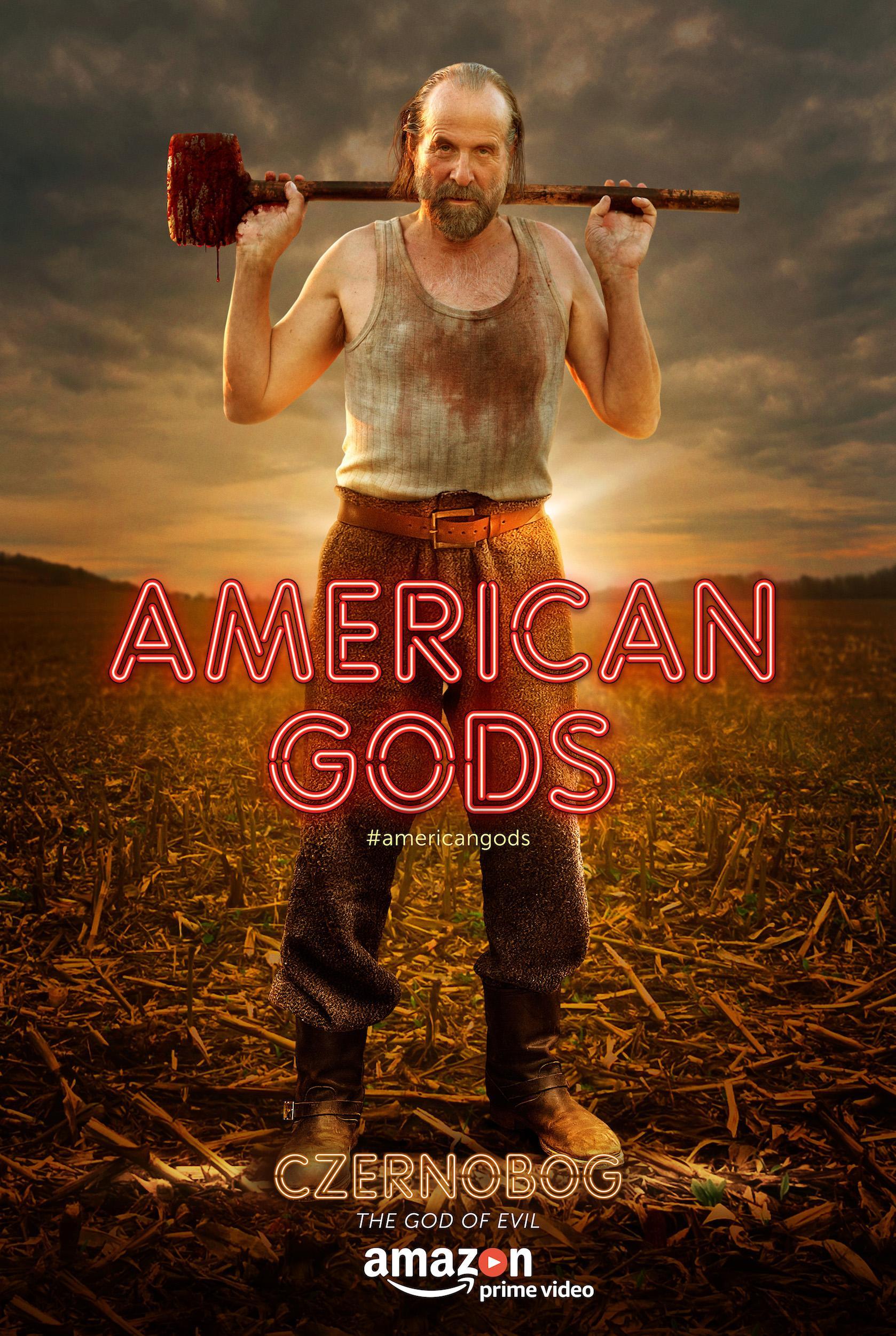 دانلود سریال خدایان آمریکایی