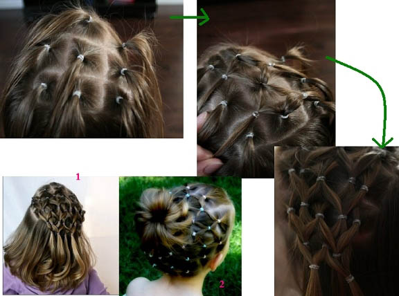 آموزش بافت مو جدید 2018
