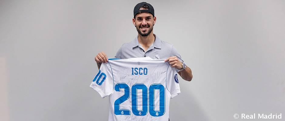 200 بازی رسمی ایسکو با پیراهن رئال مادرید