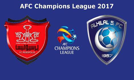 نتیجه بازی پرسپولیس و الهلال عربستان 4 مهر 96 + خلاصه بازی