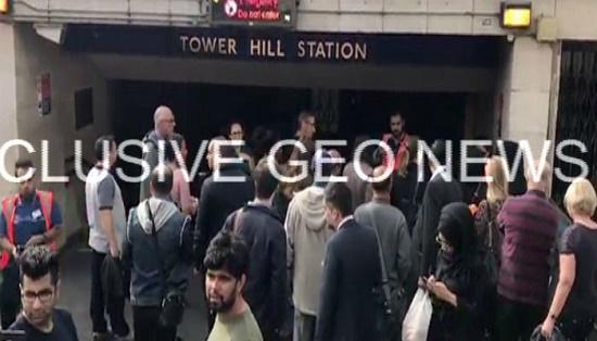 انفجار در یکی از ایستگاههای متروی لندن+ تصاویر