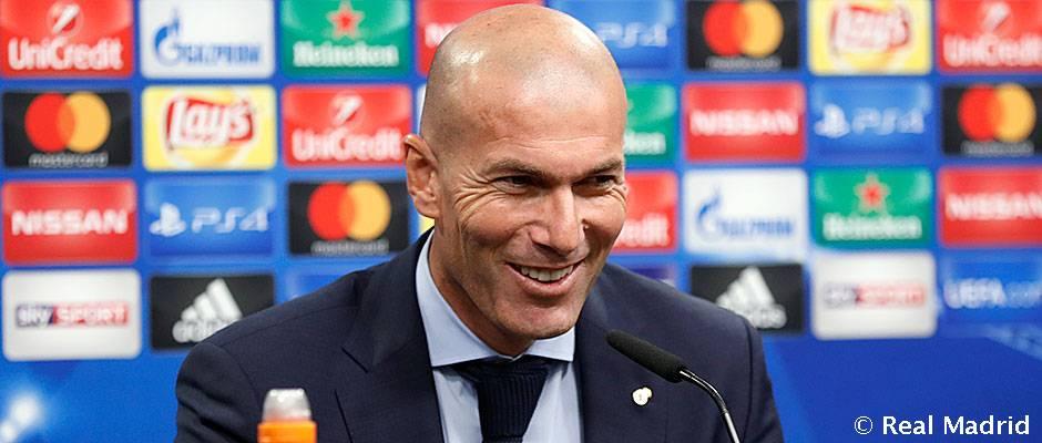 زیدان: برای رئال مادرید تورنمنت ها فرقی ندارند، اما پیروزی بر دورتموند ویژه و مهم بود
