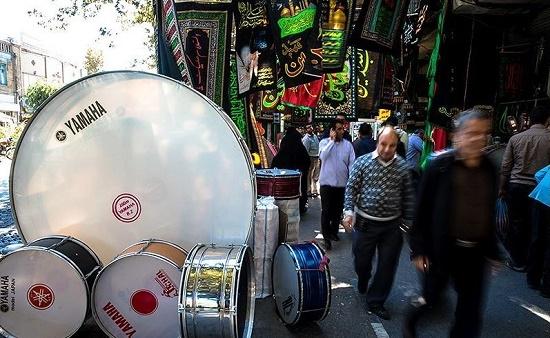 نفوذ چین و ترکیه در اقتصاد محرم/واردات طبل،سنج،پرچم از آنسوی مرزها!