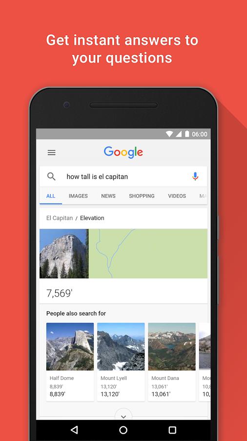 دانلود رایگان آخرین نسخه برنامه گوگل اپ Google App