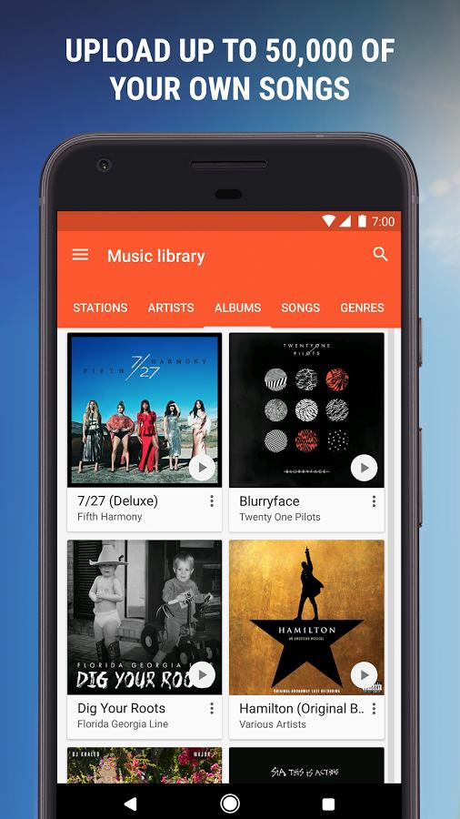 دانلود رایگان آخرین نسخه برنامه گوگل پلی موزیک Google Play Music