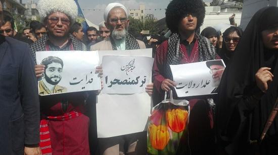وداع پرشور مردم با پیکر شهید حججی/هدیه رهبر معظم انقلاب به همسر شهید حججی+ تصاویر و فیلم