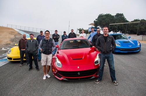 رقابت درگ سریعترین خودرو های 2017 توسط موتورترند