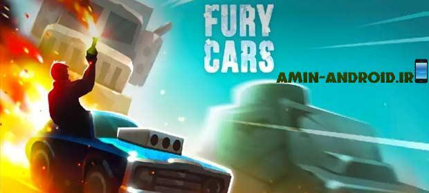 دانلود بازی اکشن اندروید Fury Cars