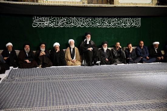 نخستین شب از مراسم سوگواری سیدالشهدا (ع) در حسینیه امام خمینی (ره) برگزار شد
