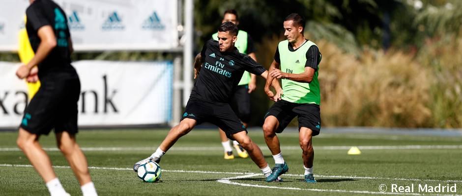 غیبت بیل و رونالدو در تمرینات رئال مادرید