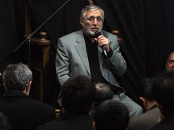 مداحی حاج منصور ارضی در بیت رهبری