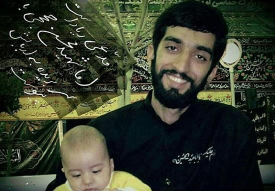 گفتگوی عاشقانه پدر، مادر و همسر محسن حججی با این شهید +فیلم