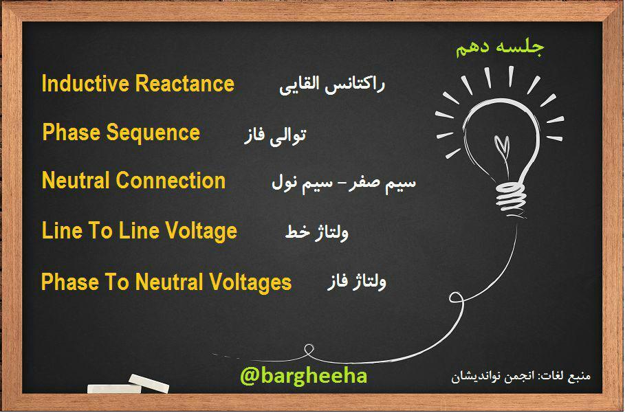 آموزش لغات انگلیسی برق و اتوماسیون جلسه 10
