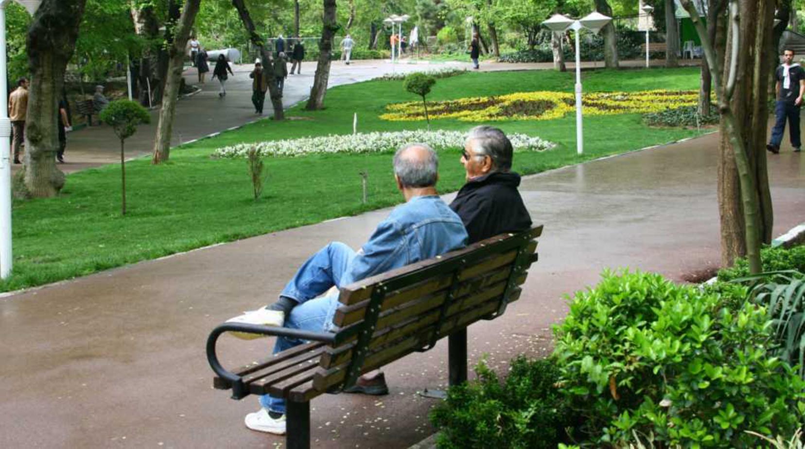 داستان انگلیسی دو پیرمرد با شخصیت