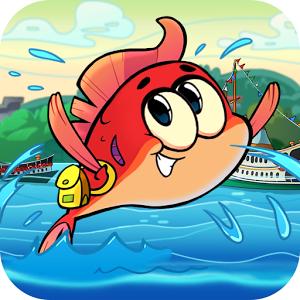 دانلود رایگان بازی Adventurous Fins v1.4 - بازی کارتونی ماجراجویی فینز برای اندروید و آی او اس