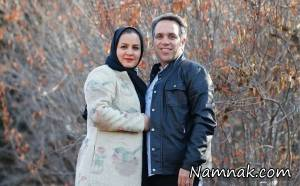 عکس امیر کربلایی زاده و همسرش در اکران نگار
