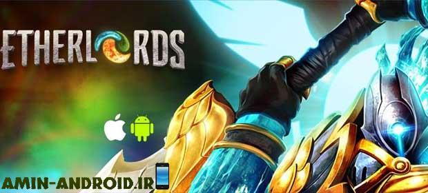 دانلود بازی اندروید Etherlords: Heroes and Dragons