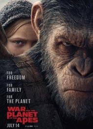 دانلود فیلم War For The Planet Of The Apes 2017 با زیرنویس فارسی