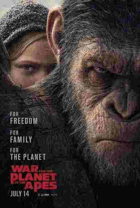 دانلود فیلم جنگ برای سیاره میمونها 2017