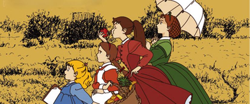 دانلود سریال کارتونی زنان کوچک 1 دوبله فارسی