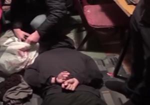 لحظه دستگیری تیم ترور و بمبگذاری داعش در مسکو + فیلم