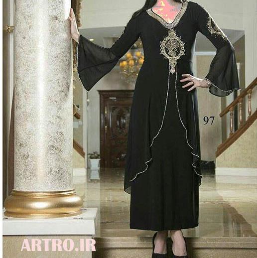 شیکترین مدلهای لباس مجلسی مشکی2018
