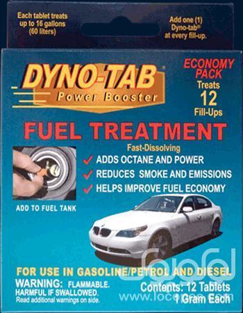 اکتان بنزین داینوتب ( 12 عدد قرص یک گرمی )
