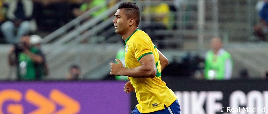 کاسمیرو، کاپیتان تیم ملی برزیل در دیدار برابر بولیوی