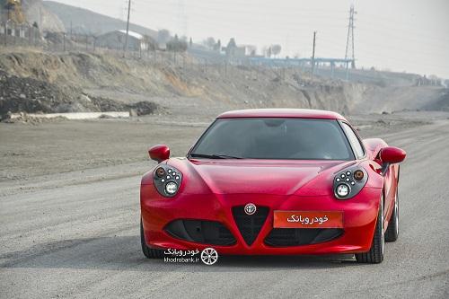 مشخصات فنی خودرو آلفا رومئو 4C