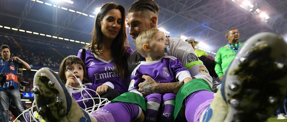 سرخیو راموس و پیلار روبیو در انتظار تولد سومین فرزندشان