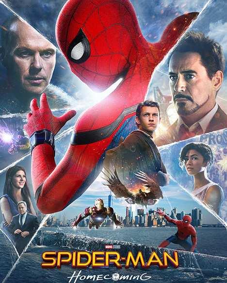 فیلم دوزبانه مرد عنکبوتی بازگشت به خانه 2017 - دانلود پلی