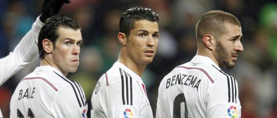 مثلث بی بی سی دیگر گلزن اصلی رئال مادرید نیست