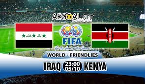 پخش زنده و انلاين بازي عراق و کنیا