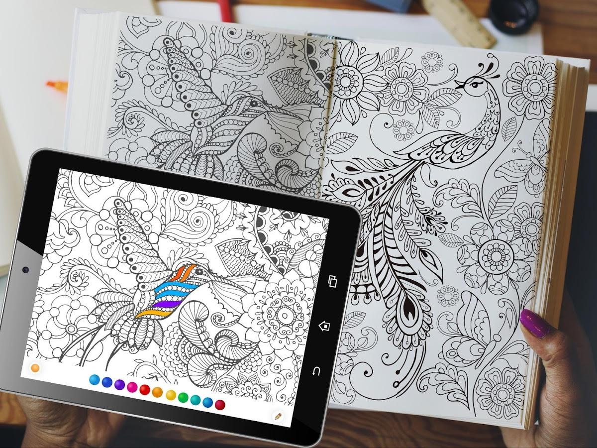 دانلود رایگان آخرین نسخه برنامه طراحی و نقاشی این کالر InColor - Coloring Books