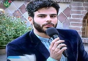 مصاحبه با خواننده پاپی که در بیت رهبری مداحی کرد + فیلم