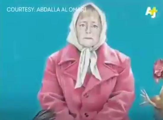 تصاویری جالب از رؤسای جمهور جهان در لباس آوارگان + فیلم