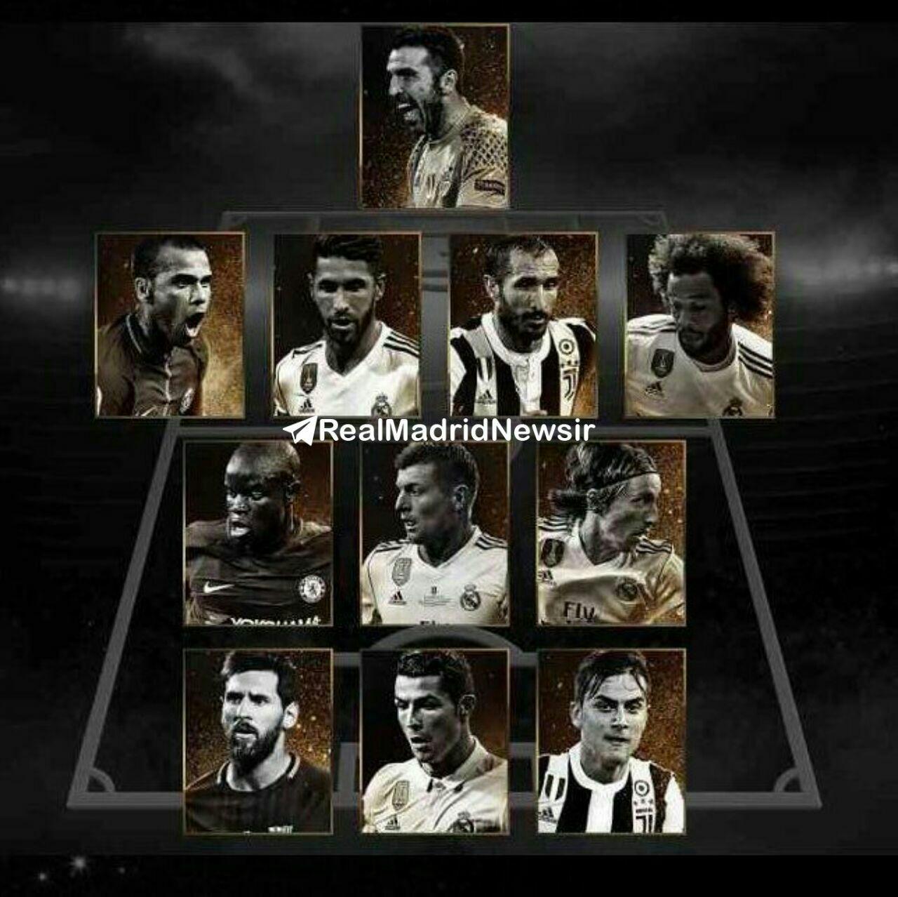 آخرین اخبار ورزشی:منتخب جهان با 5 بازیکن از رئال مادرید/از شماها نميترسيم چون رونالدو را ندارید
