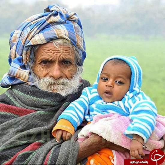 پیرترین پدر جهان