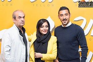 ساره بیات: با قوچان نژاد احساس محرمیت میکنم به احترام شما بغلش نمی کنم!عکس و فیلم