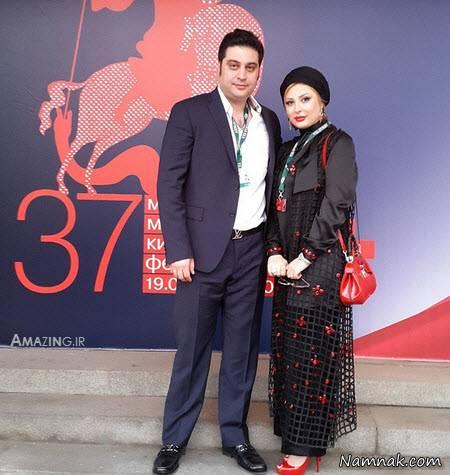 نیوشا ضیغمی بیوگرافی نیوشا ضیغمی و همسرش آرش پولادخان + عکس