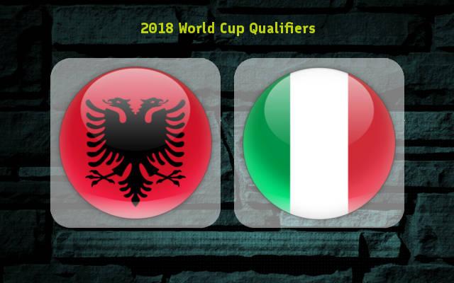 پخش زنده و انلاين بازي ایتالیا و آلبانی