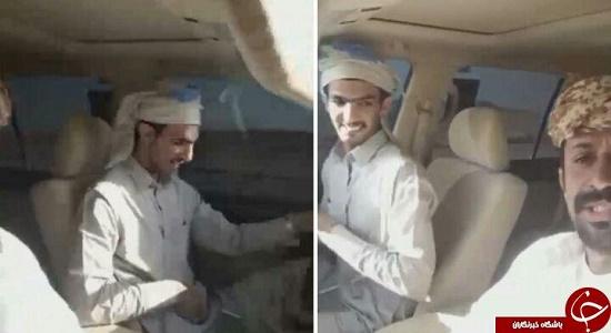دو عربستانی از لحظه تصادف و مرگ خود فیلم گرفتند + فیلم