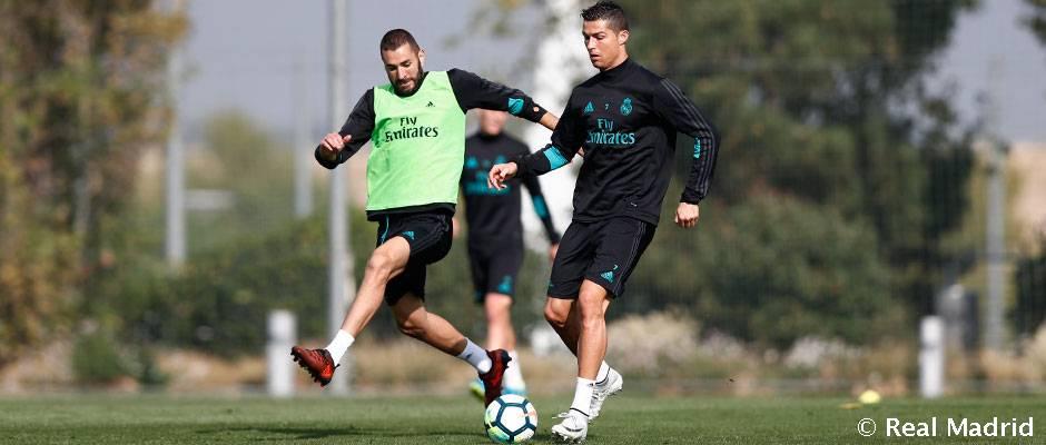 بازگشت ملی پوشان و رونق گرفتن دوباره تمرینات رئال مادرید